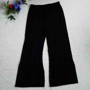 Chico's Travelers Pants Women's 2 Reg Leg Slit